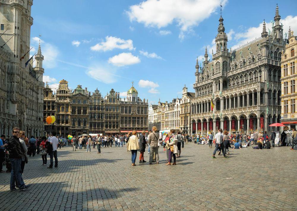 Brusel, Belgicko, Grand Place, námestie, mesto,