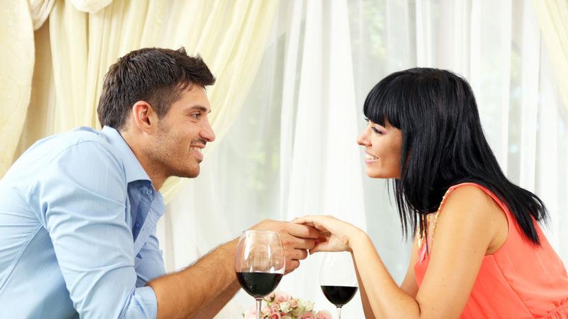 žena, muž, láska, rande