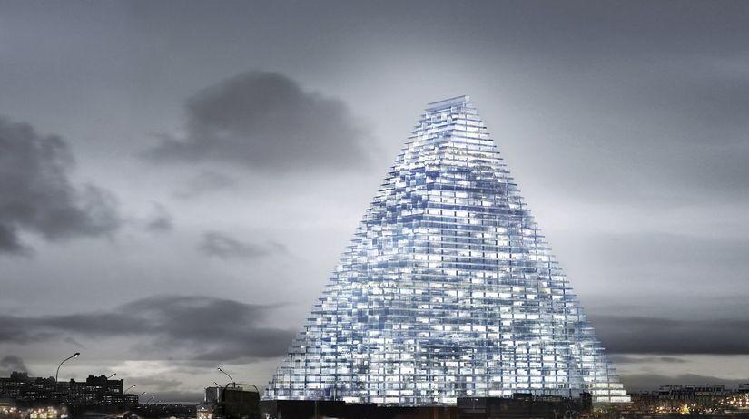 Paríž, sklenená pyramída, Francúzsko