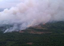 Černobyľ, požiar