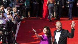Herečka Martha Issová s partnerom Davidom Ondříčkom.