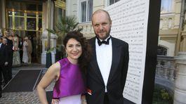 Herečka Martha Issová a jej partner David Ondříček.