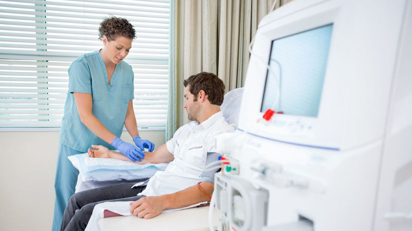 zdravotná sestra, pacient