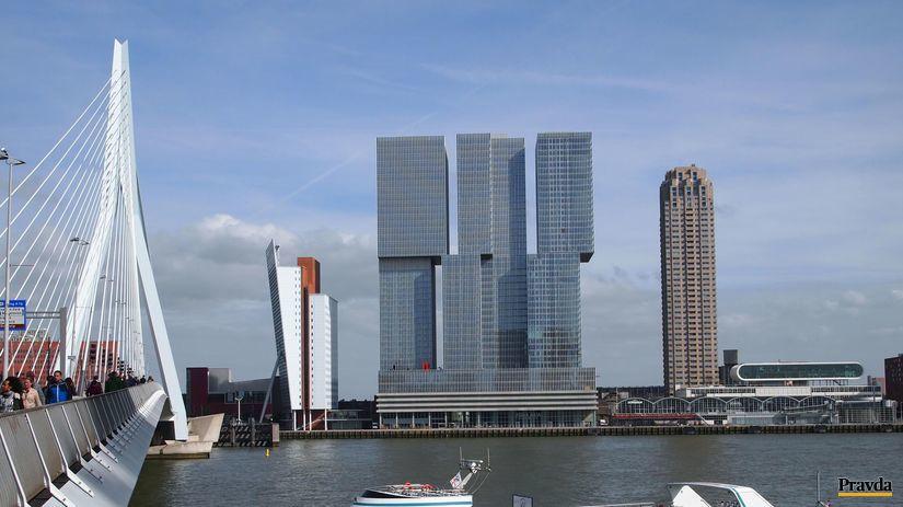 Rotterdam, budova
