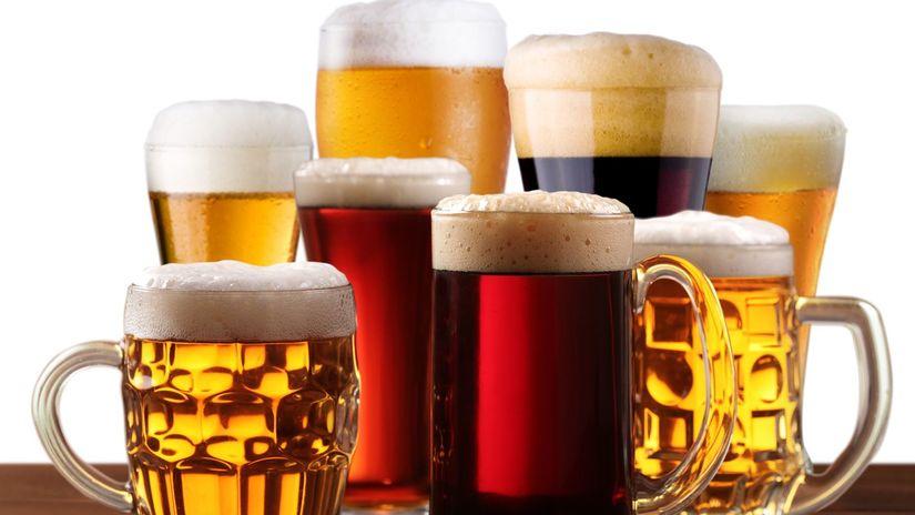 pivo, druhy piva, alkohol, osvieženie