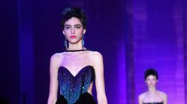 Módna prehliadka Armani Privé - haute couture - Paríž - jeseň-zima 2015/2016