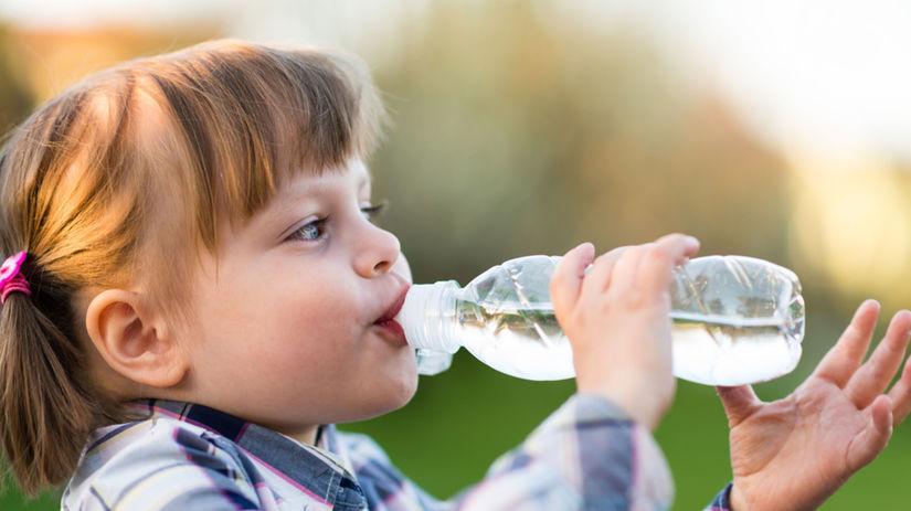 pitný režim, dieťa, smäd