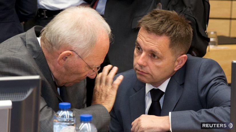 Peter Kažimír, Wolfgang Schäuble