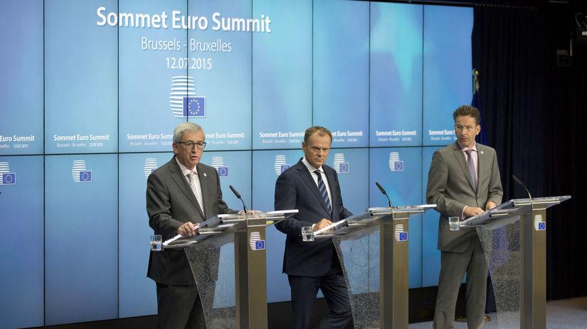 Juncker, Tusk, Dijsselbloem