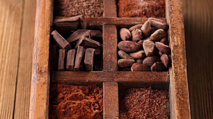 čokoláda, kakao