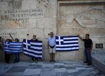 Gréci, protest, Atény