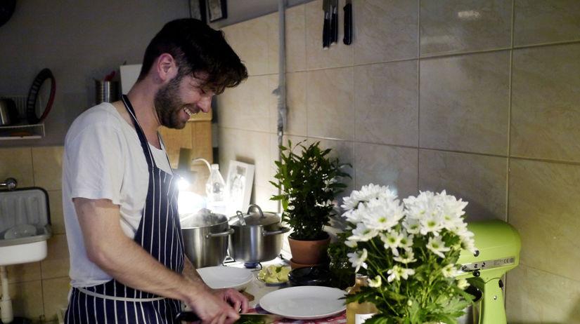 kuchár, jedlo, varenie