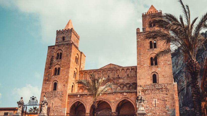 Palermo a katedrály Cefalù a Monreale, Sicília,...