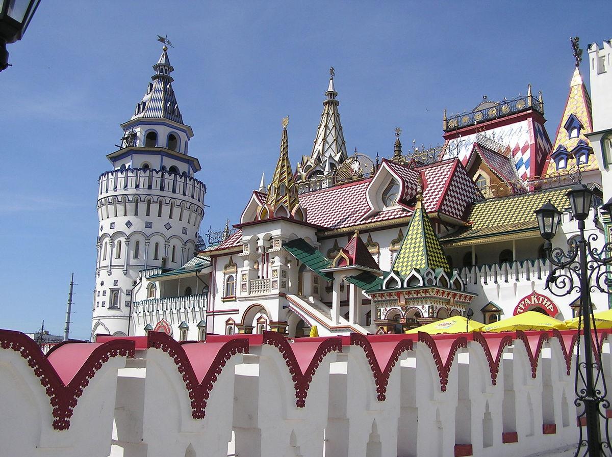 Novoizmajlovský Kremeľ, Moskva, Rusko, múzeum vodky