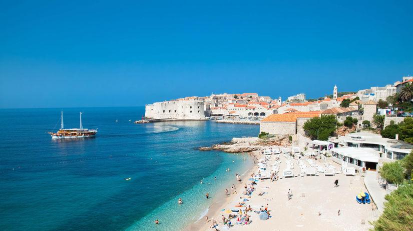 chorvátsko, dubrovník, leto, pláž, more