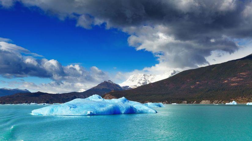 Lago Argentino, jazero, ľadovce, Argentína,...