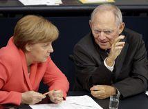 Wolfgang Schäuble, Angela Merkel