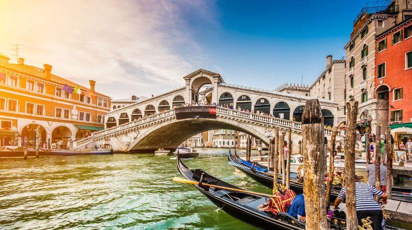 Benátky, kanál, Ponte de, most, Taliansko, gondoly