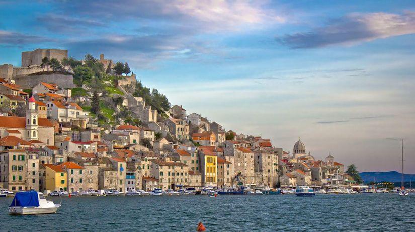 Šibenik, Chorvátsko, more, leto, letovisko,...