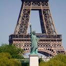 Paríž, Francúzsko, Socha slobody, Eiffelova veža