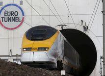 Eurotunnel, Calais, Lamanšský prieliv