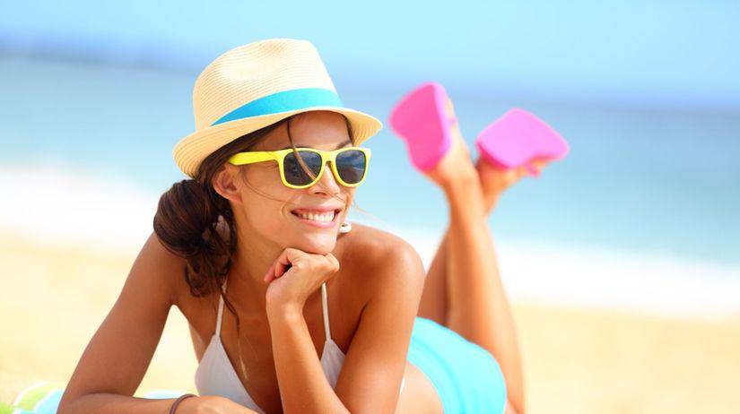 leto, pláž, slnečná ochrana
