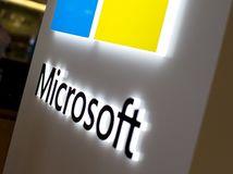Microsoft, logo, firma, Windows