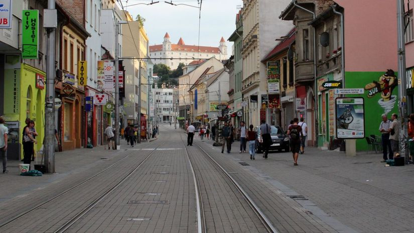Obchodná ulica, hrad