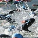 triatlon, plávanie