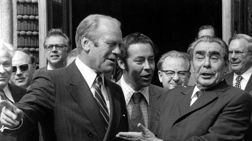 Ford, Brežnev,