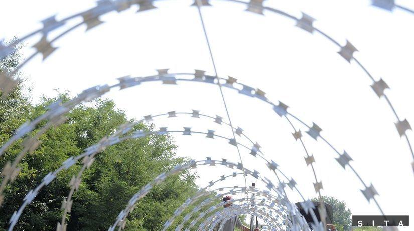 maďarsko, plot, utečenci