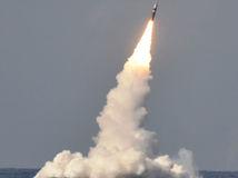balistická raketa, trident, odpálenie, raketa