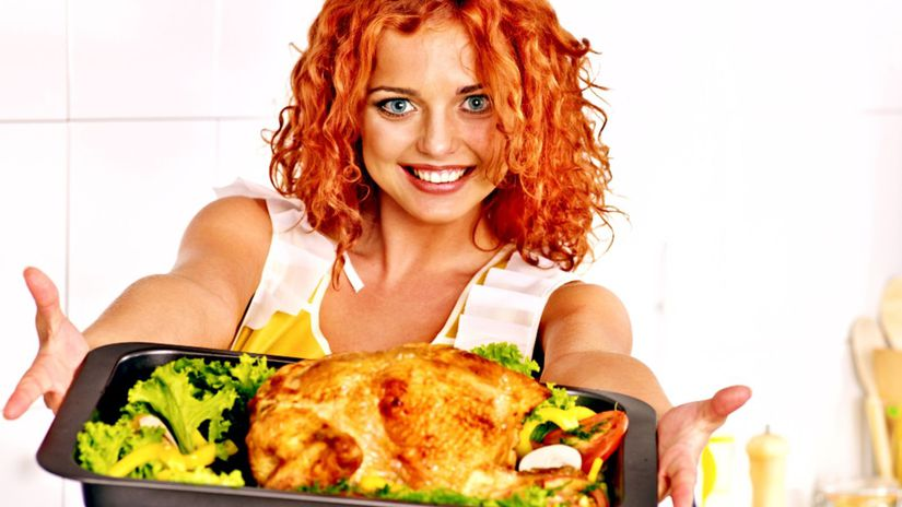 pečené kurča, kuracina, hydina