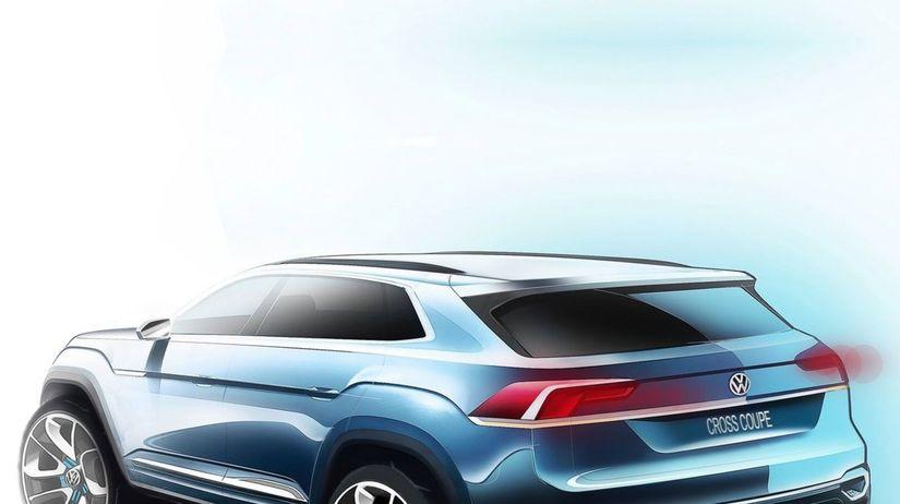 Volkswagen Cross Coupé GTE Concept - 2015