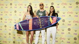 Jordana Brewster, Vin Diesel a Michelle Rodriguez
