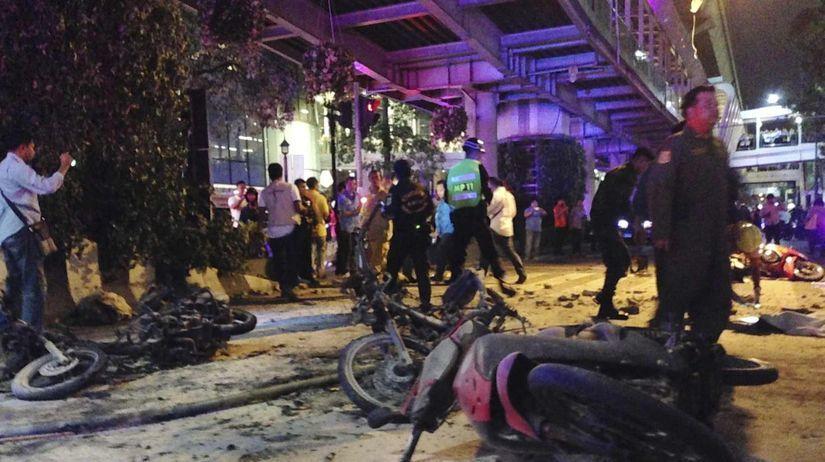 Thajsko, výbuch, bangkok
