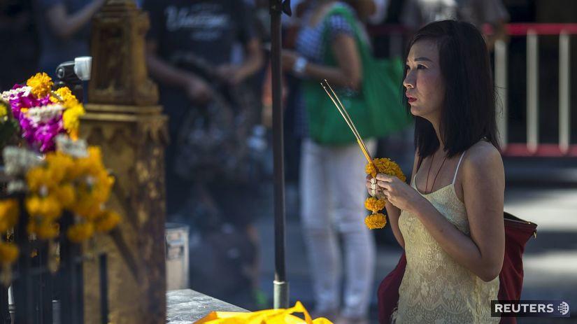 Thajsko, výbuch