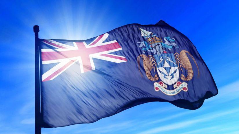 Tristan da Cunha, vlajka, zástava, ostrov,...