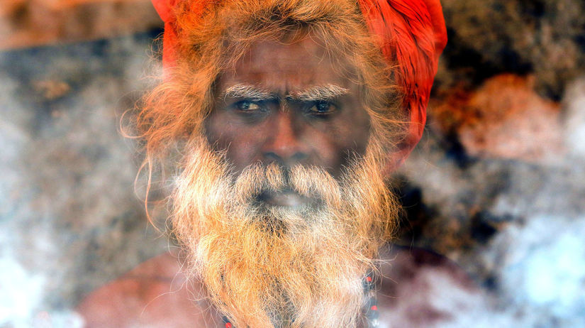 svätec, hinduista, rituál