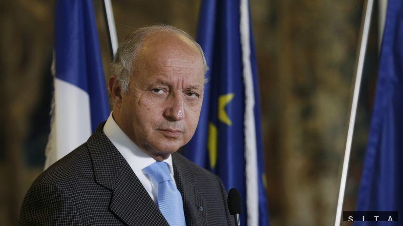 francúzsko, minister zahraničných vecí, Fabius,...