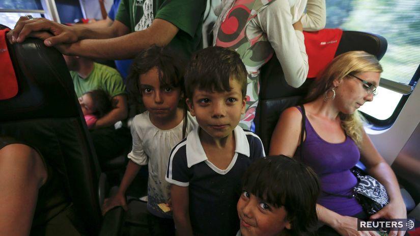 Budapešť, utečenci, vlaky