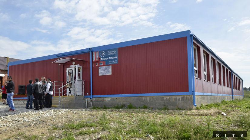 modulová škola, Stráne pod Tatrami