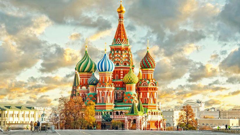 Moskva, Rusko, Kremeľ, Chrám sv. Blažeja,...