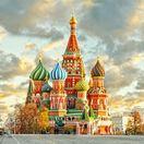 Moskva, Rusko, Kremeľ, Chrám sv. Blažeja, Červené námestie