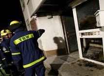 Heppenheim, Nemecko, požiar, utečenci