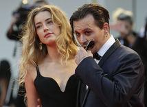 Manželia Amber Heard a Johnny Depp.