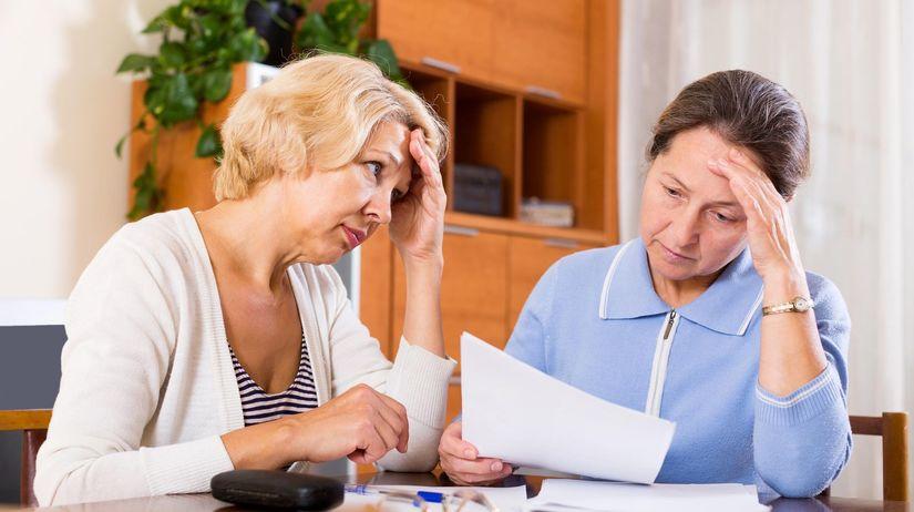 pôžička, dôchodci,