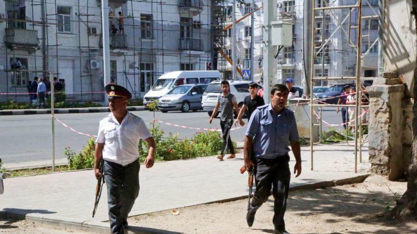 Tadžikistan, streľba