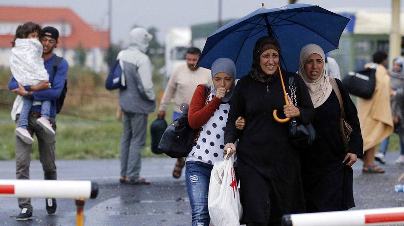 migranti, Maďarsko, Rakúsko, utečenci