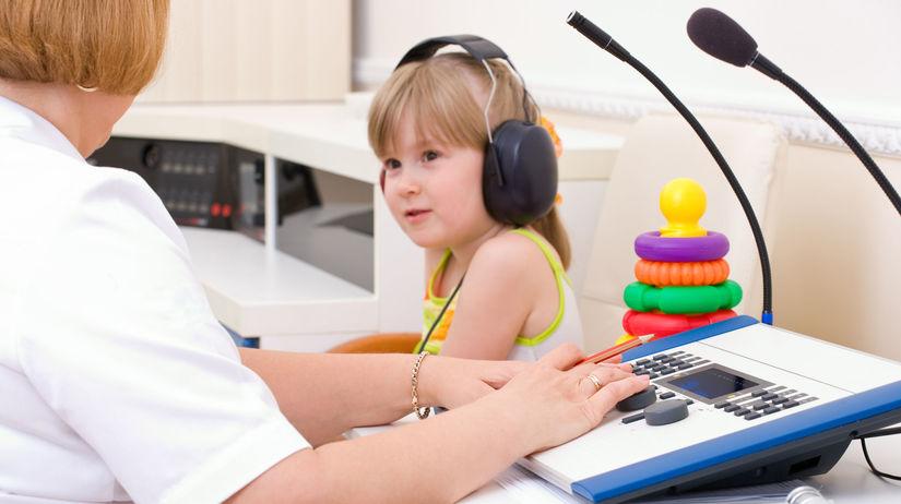 uši, sluch, nepočujúci
